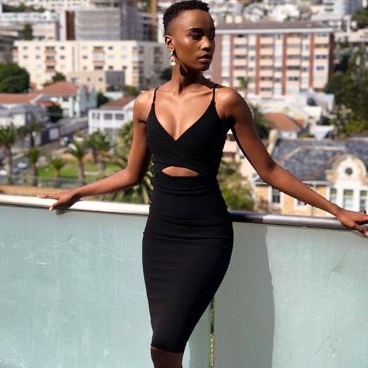 Cận cảnh nhan sắc người đẹp Nam Phi đăng quang Miss Universe 2019 - Ảnh 5