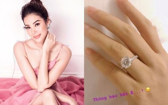 Chia sẻ đầu tiên của Phạm Hương về cuộc sống sau khi đính hôn - Ảnh 1