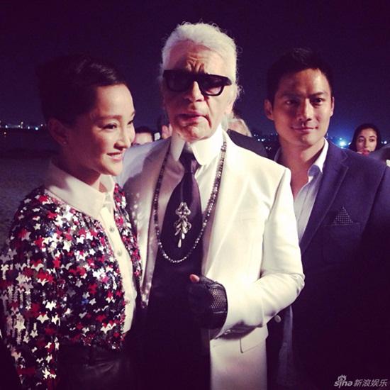 Tiết lộ người đẹp Việt hiếm hoi được trò chuyện với Karl Lagerfeld - Ảnh 2