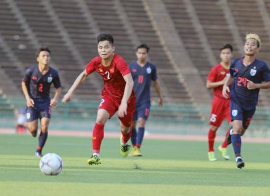 Hòa U22 Thái Lan, tuyển Việt Nam vào bán kết với ngôi đầu bảng - Ảnh 1