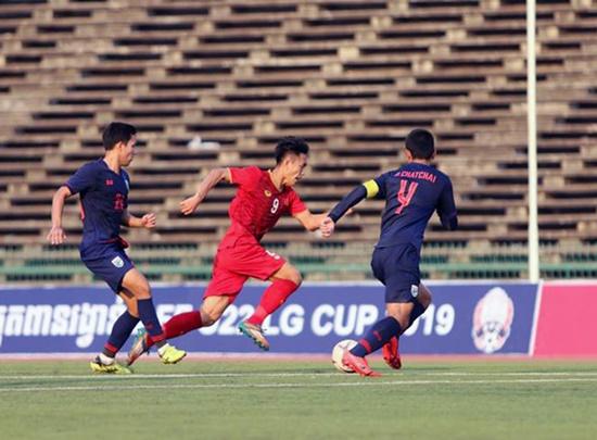 Hòa U22 Thái Lan, tuyển Việt Nam vào bán kết với ngôi đầu bảng - Ảnh 2