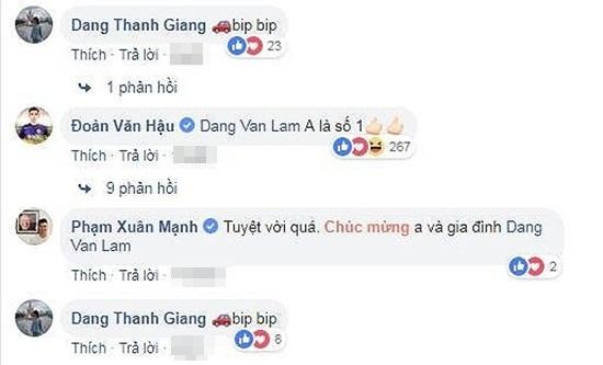 """Đặng Văn Lâm hoàn thành ước mơ mua ô tô tặng bố, Linh Nga khen """"đáng yêu"""" - Ảnh 3"""