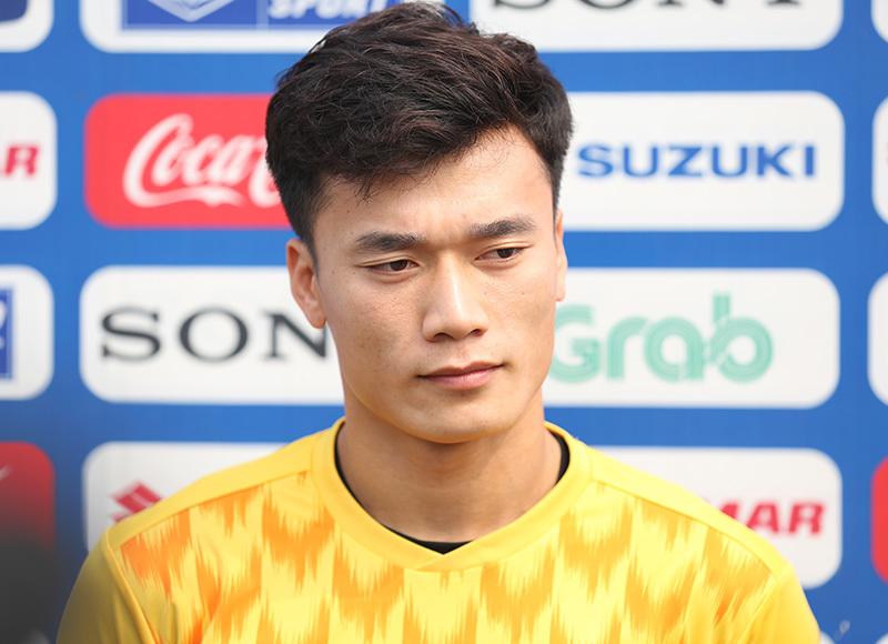 Bùi Tiến Dũng: Thèm được chơi bóng, nỗ lực để bắt chính tại U23 Việt Nam - Ảnh 1