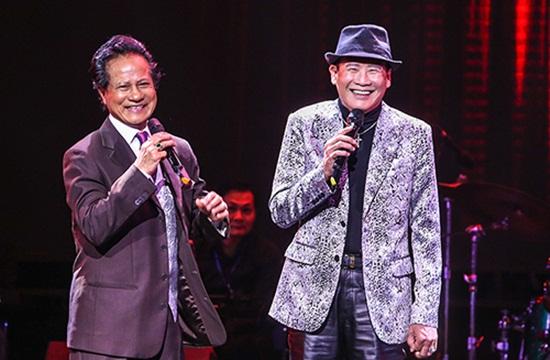 Bộ đôi nổi tiếng làng nhạc Bolero Chế Linh - Tuấn Vũ hẹn nhau hát ở Hà Nội - Ảnh 2