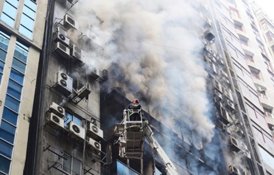 19 nạn nhân thiệt mạng, gần 100 người bị thương trong vụ hỏa hoạn ở Bangladesh - Ảnh 4