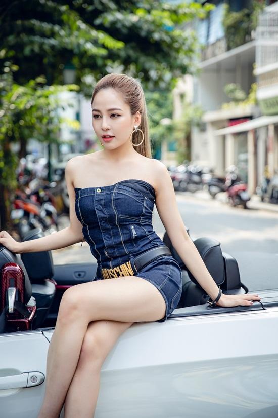 Cận cảnh vẻ đẹp nóng bỏng của hotgirl Trâm Anh - Ảnh 5