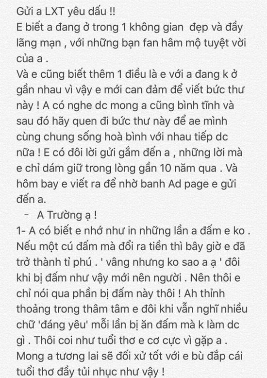 """Đúng ngày sinh nhật Văn Toàn, Xuân Trường công khai """"tâm thư tố khổ"""" của đàn em - Ảnh 2"""