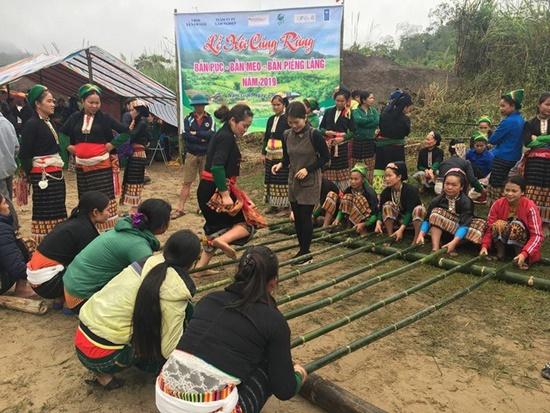 Người Thái trả ơn rừng qua lễ cúng thần với số 9 huyền bí - Ảnh 2