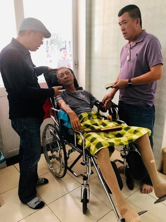 Nghệ sĩ Lê Bình sốt cao, mê man trên giường bệnh chống chọi ung thư - Ảnh 1