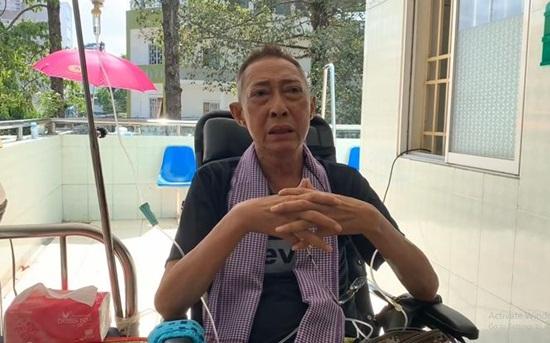 Nghệ sĩ Lê Bình sốt cao, mê man trên giường bệnh chống chọi ung thư - Ảnh 2