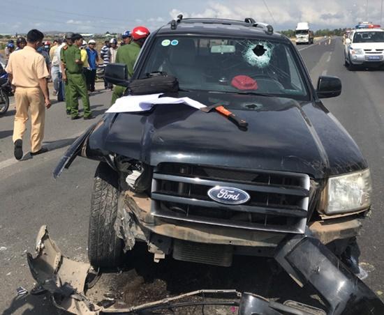 """CSGT bị tài xế xe """"điên"""" ép xe ngã ở Bà Rịa - Vũng Tàu đã qua đời - Ảnh 1"""