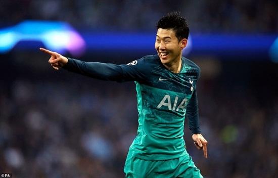 Phong độ chói sáng, Son Heung-min lập kỷ lục độc nhất vô nhị ở Champions League - Ảnh 1