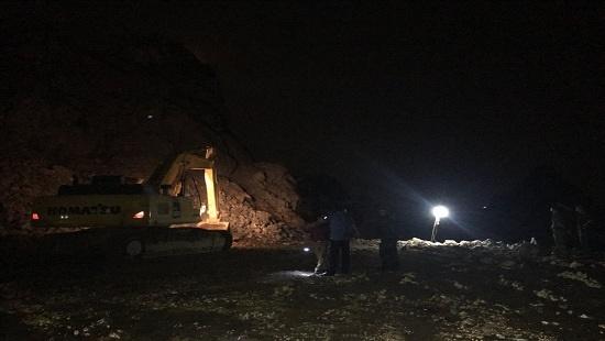 Nổ mìn khai thác đá ở Quảng Ninh, 200 người trắng đêm tìm kiếm 1 công nhân mất tích - Ảnh 1