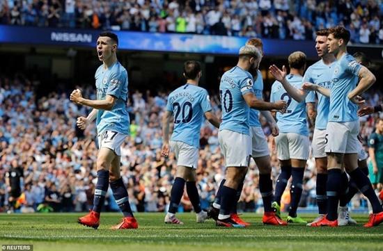 """Man City """"trả đũa"""" thành công Tottenham, tái chiếm ngôi đầu Ngoại hạng Anh - Ảnh 2"""