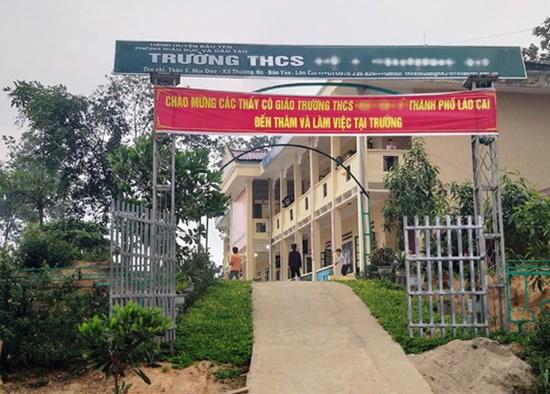 Vụ thầy giáo bị tố làm nữ sinh lớp 8 có thai ở Lào Cai: Bộ Giáo dục yêu cầu xử lý nghiêm - Ảnh 1