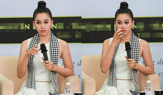 Hoa hậu Tiểu Vy rơi nước mắt trong lần đầu trải lòng về vương miện tuổi 18 - Ảnh 2