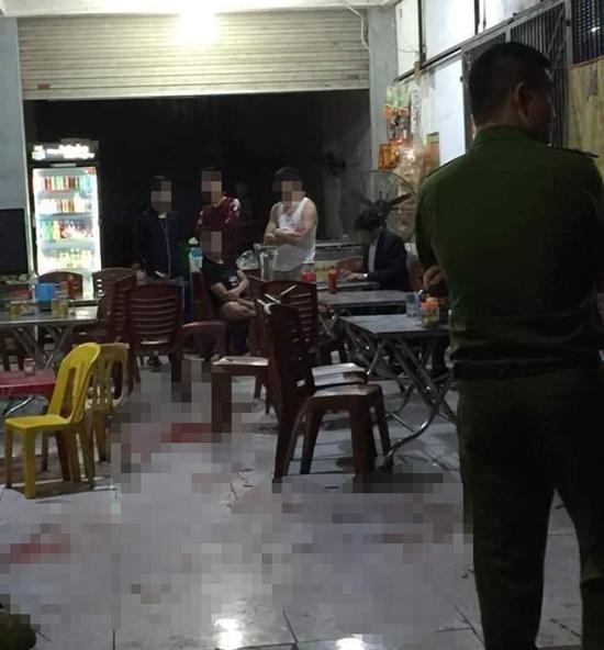 Vụ hỗn chiến trong quán nhậu ở Thái Nguyên: 1 người tử vong tại chỗ, 3 người nhập viện  - Ảnh 1