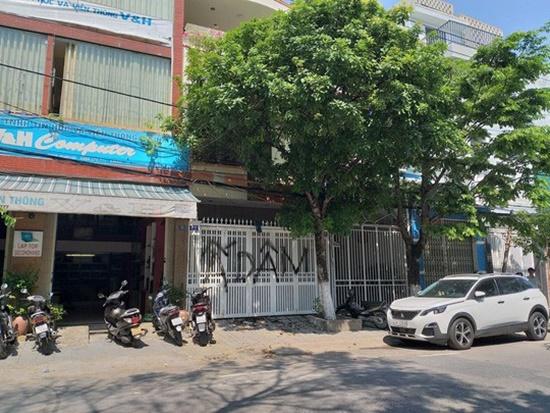 Truy tìm, xử lý nghiêm người bôi bẩn cổng nhà nguyên Viện phó VKSND Đà Nẵng - Ảnh 1