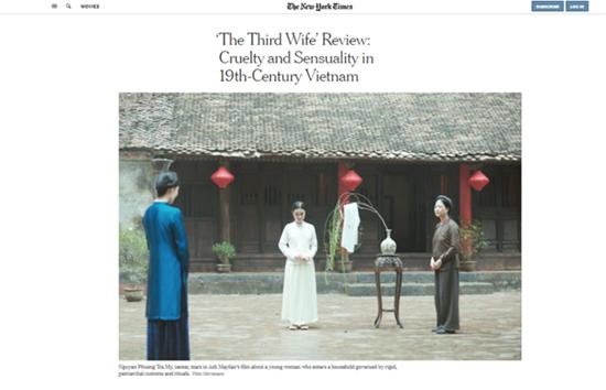 """""""Vợ ba"""" xuất hiện trên báo Mỹ, đạo diễn lên tiếng về tranh cãi cảnh nóng - Ảnh 3"""