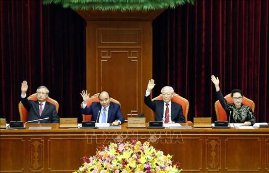 Bế mạc Hội nghị lần thứ 10 Ban Chấp hành Trung ương Đảng Cộng sản Việt Nam khóa XII - Ảnh 1