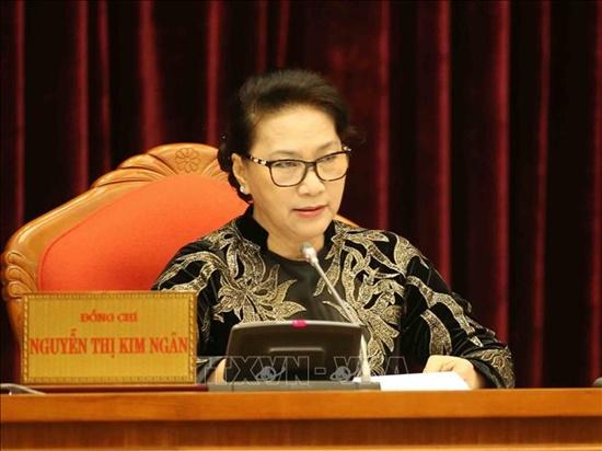 Bế mạc Hội nghị lần thứ 10 Ban Chấp hành Trung ương Đảng Cộng sản Việt Nam khóa XII - Ảnh 4