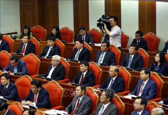 Bế mạc Hội nghị lần thứ 10 Ban Chấp hành Trung ương Đảng Cộng sản Việt Nam khóa XII - Ảnh 8