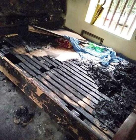 Hà Nam: Tạm giữ cô gái nghi tẩm xăng đốt bố mẹ trong đêm - Ảnh 1