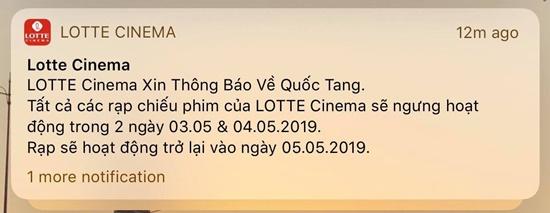 Rạp phim, chương trình giải trí thông báo tạm dừng trong 2 ngày Quốc tang - Ảnh 1