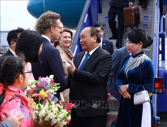 Thủ tướng Nguyễn Xuân Phúc bắt đầu thăm chính thức Vương quốc Thụy Điển - Ảnh 2
