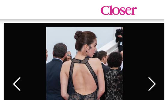 Công chúng quốc tế nói gì về bộ váy của Ngọc Trinh tại LHP Cannes? - Ảnh 1