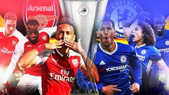 """Chung kết Europa League Arsenal - Chelsea: Baku """"rực lửa"""" đón tân vương - Ảnh 1"""
