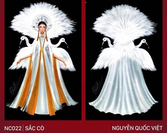 """Thiết kế trang phục """"Bàn thờ"""" cho Hoàng Thùy thi Miss Universe gây tranh cãi dữ dội - Ảnh 2"""