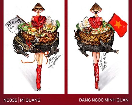 """Thiết kế trang phục """"Bàn thờ"""" cho Hoàng Thùy thi Miss Universe gây tranh cãi dữ dội - Ảnh 3"""