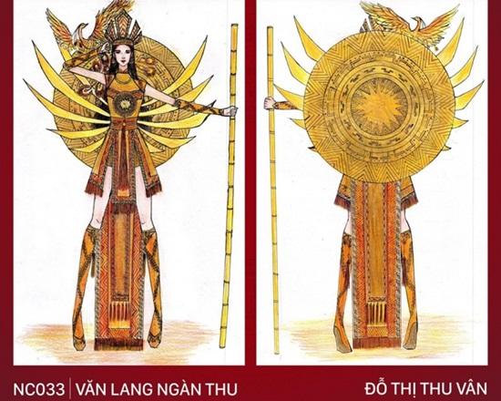"""Thiết kế trang phục """"Bàn thờ"""" cho Hoàng Thùy thi Miss Universe gây tranh cãi dữ dội - Ảnh 4"""
