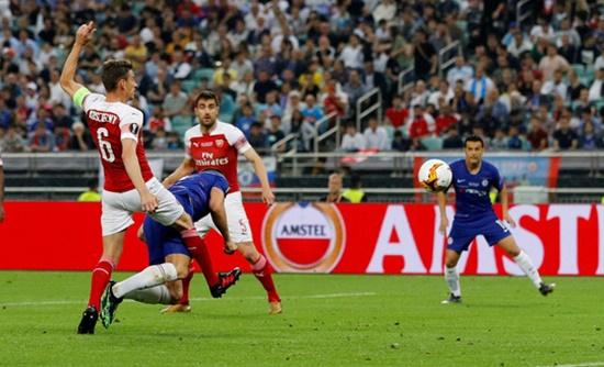 """Chelsea """"hủy diệt"""" Arsenal 4-1, lên ngôi Europa League ở Baku - Ảnh 1"""