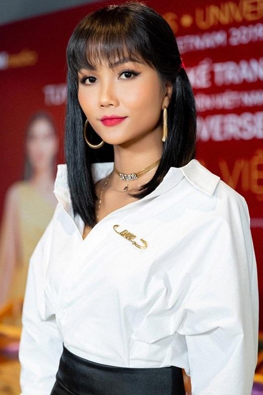 H'Hen Niê ghi tên vào dàn phù dâu đình đám của Hoa hậu Hoàn vũ Thái Lan - Ảnh 1