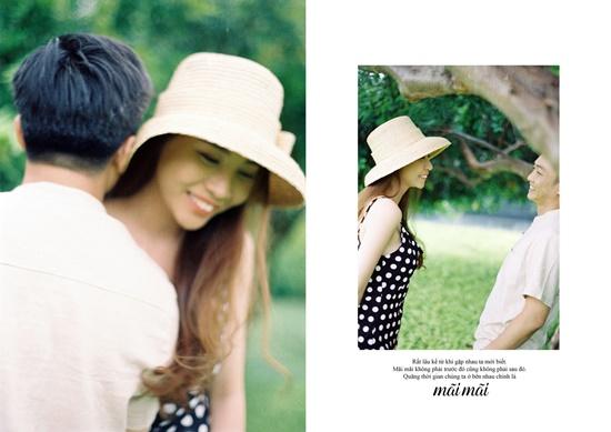 Cường Đô la - Đàm Thu Trang tung ảnh cưới toàn những lời ngôn tình đầy say đắm - Ảnh 7