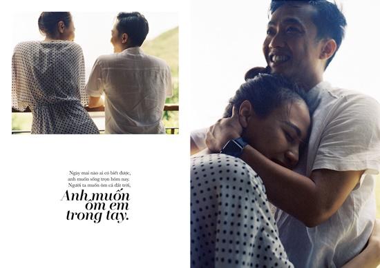 Cường Đô la - Đàm Thu Trang tung ảnh cưới toàn những lời ngôn tình đầy say đắm - Ảnh 8