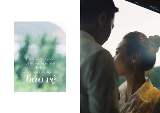 Cường Đô la - Đàm Thu Trang tung ảnh cưới toàn những lời ngôn tình đầy say đắm - Ảnh 9