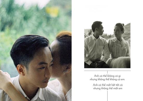Cường Đô la - Đàm Thu Trang tung ảnh cưới toàn những lời ngôn tình đầy say đắm - Ảnh 2