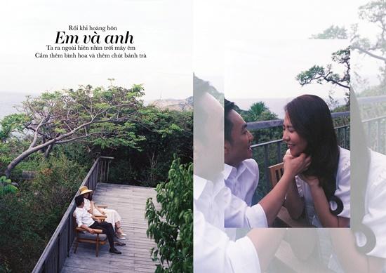 Cường Đô la - Đàm Thu Trang tung ảnh cưới toàn những lời ngôn tình đầy say đắm - Ảnh 3