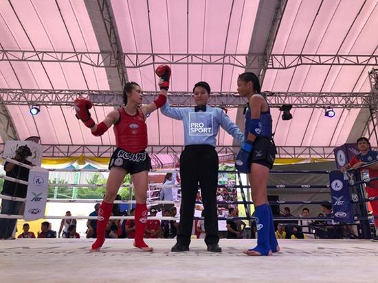 Nữ võ sĩ Hữu Hiếu giành ngôi vô địch Muay thế giới 2019 trên đất Thái - Ảnh 2