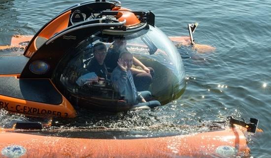 Tổng thống Nga Putin xuống đáy biển thăm xác tàu ngầm chìm từ Thế chiến II - Ảnh 1