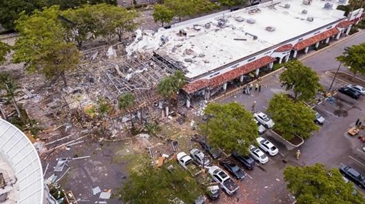 Mỹ: Nổ khí gas ở trung tâm thương mại, 21 người bị thương - Ảnh 1