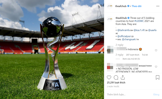 Ứng viên xin đăng cai U20 World Cup: Có 3 quốc gia Đông Nam Á - Ảnh 1