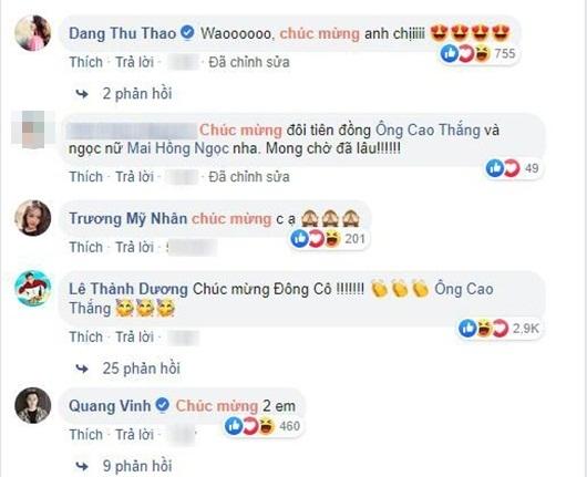 Ông Cao Thắng cầu hôn Đông Nhi, cả showbiz Việt rộn ràng chúc mừng - Ảnh 3