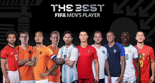 Tin tức thể thao mới  nhất hôm nay 1/8: FIFA công bố top 10 cầu thủ xuất sắc nhất thế giới 2019 - Ảnh 1