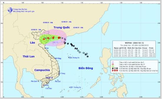 Bão số 3 đi vào vịnh Bắc Bộ: Mưa lớn ở Hà Nội, nguy cơ sạt lở vùng núi - Ảnh 1
