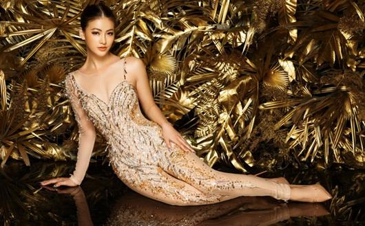 """Phương Khánh rạng rỡ diện lại bộ trang phục """"huyền thoại"""" ở Miss Earth - Ảnh 6"""