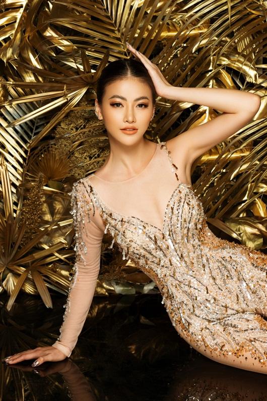 """Phương Khánh rạng rỡ diện lại bộ trang phục """"huyền thoại"""" ở Miss Earth - Ảnh 7"""